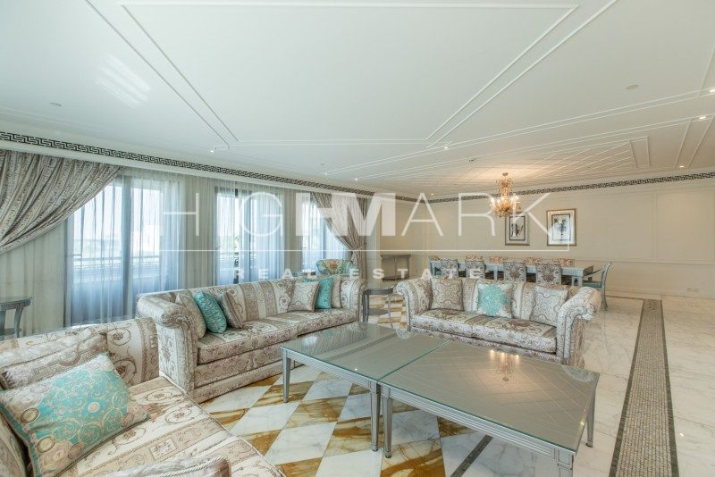 Unique 3 Bedroom for Sale in Palazzo Versace Apartment for Sale